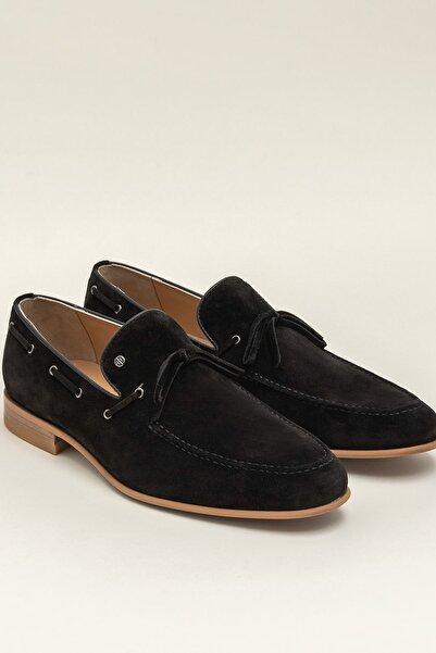 Elle Shoes HARTLEY Siyah Erkek Klasik Ayakkabı 20YML1006