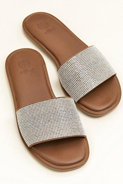 Elle Shoes RHONAA Gri Terlik 20YLT103053
