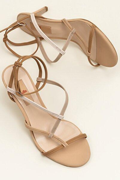 Elle Shoes RACHAEL Naturel Kombin Sandalet 20YDS58603
