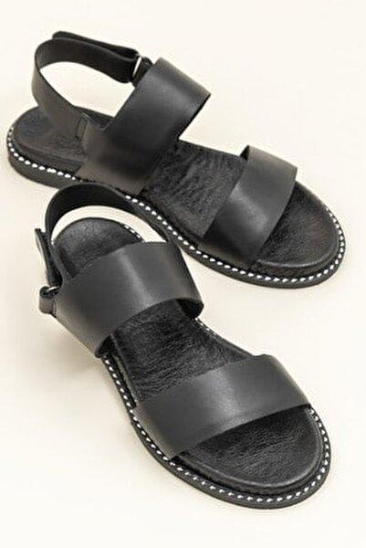 LARHONDA Siyah Sandalet 20YRE4650