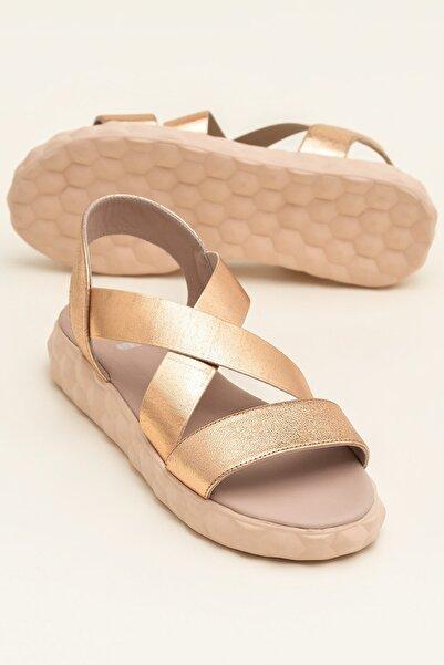 Elle Shoes SARANNA Rose Kombin Sandalet 20YCK20098
