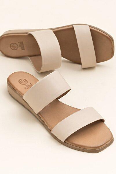 Elle Shoes REGENA Ekru Kadın  20YSS030.109.0100