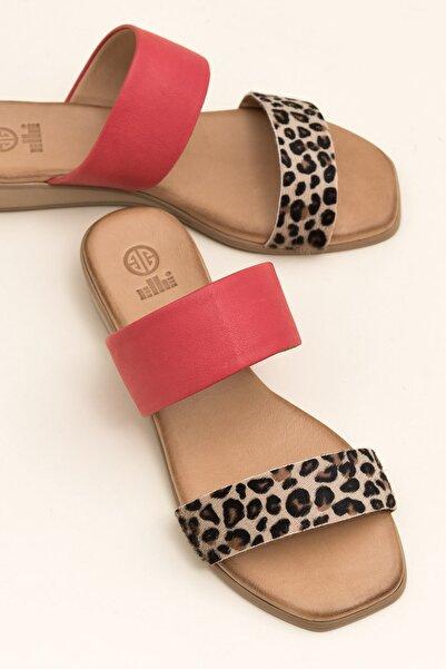 Elle Shoes REGENA Leopar Kombin Kadın  20YSS030.109.0100