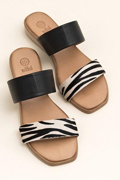 Elle Shoes REGENA Zebra Kombin Kadın  20YSS030.109.0100