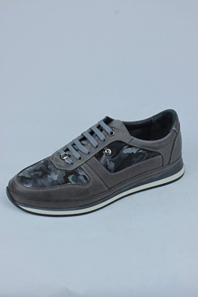 Pierre Cardin 4001 Poli Gri Casual Ayakkabı