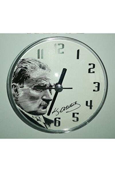 Galaxy Atatürk Temalı Magnet Saat Mıknatıslı Saat
