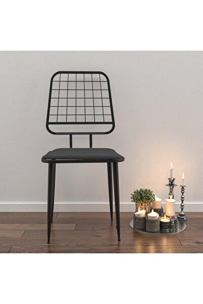 Wood House Ceylin Özel Tasarım Sandalye - Siyah