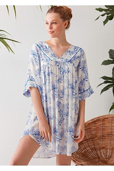 Penyemood Kadın Mavi Elbise