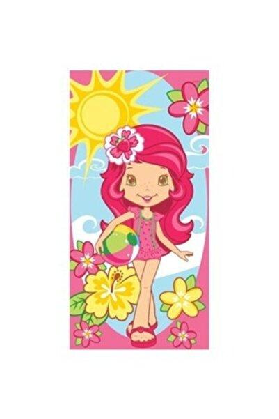 Taç Lisanslı Strawberry Shortcake Summer Plaj Havlusu 7193248965