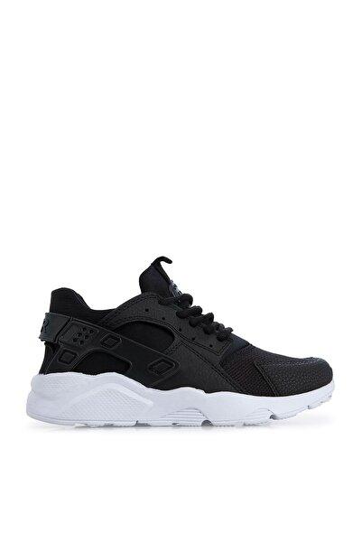 Lela Siyah Beyaz Kadın Sneaker 51218726A