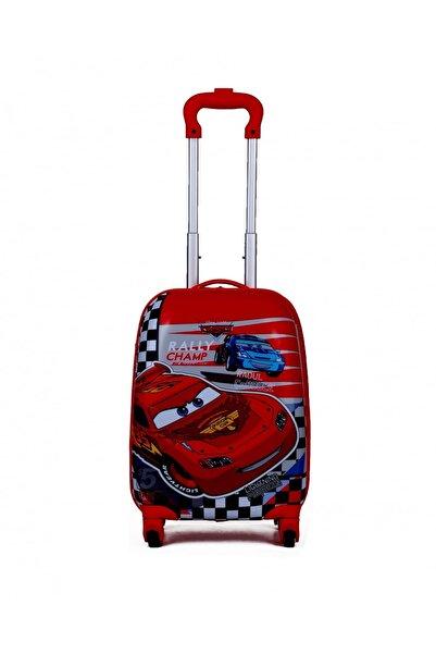 CARS Unisex Kırmızı Valiz & Bavul 19M.VLZ.ÇVL.BRK.0004