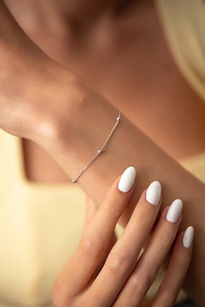Ninova Silver Kadın Toplu Model Sade Gümüş Bileklik PKT-NNVSLVR03655