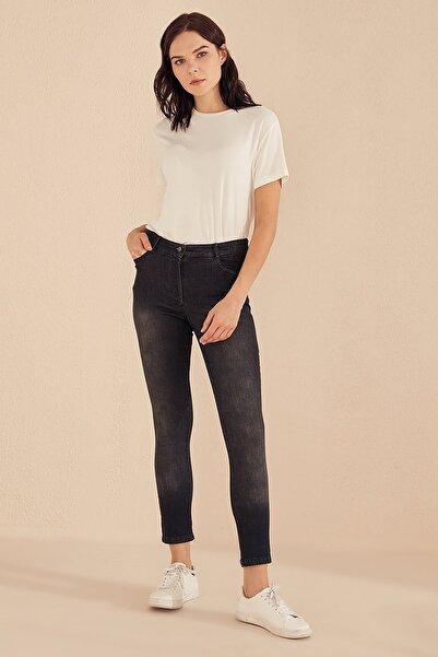 Kayra Kadın Siyah Skinny Denim Pantolon B20 19015