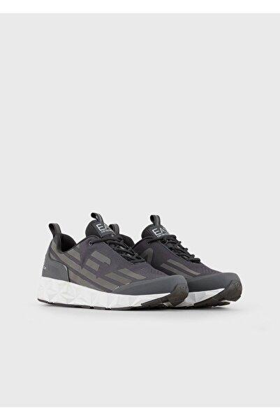EA7 Erkek Siyah Activewear Sneakers