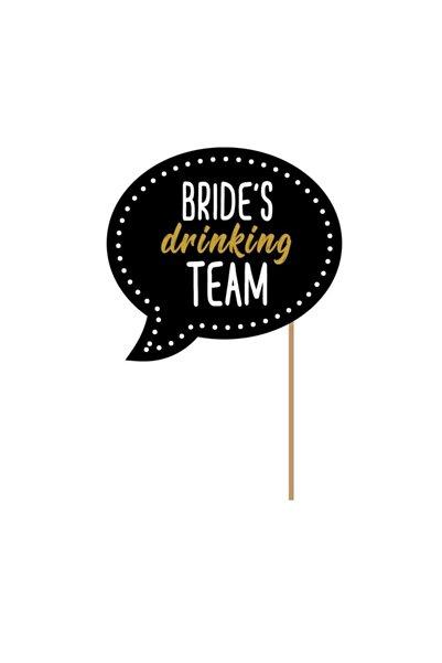 Düğün İşleri Bride's Drinking Team | Konuşma Balonu