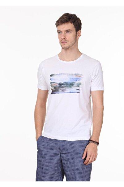 Ramsey Baskılı Örme T- Shirt