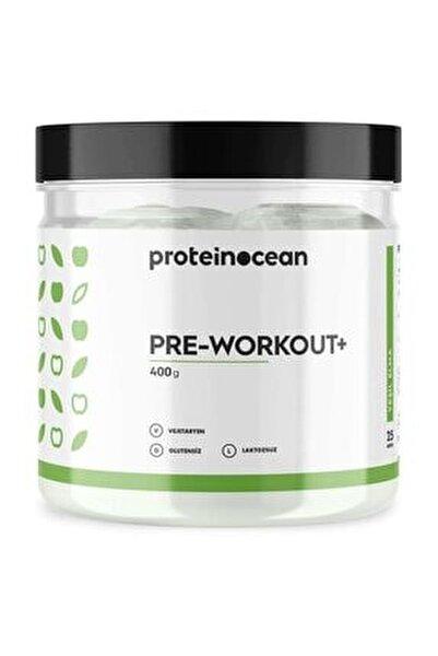 Pre-workout+™ Yeşil Elma 400g - 25 Servis
