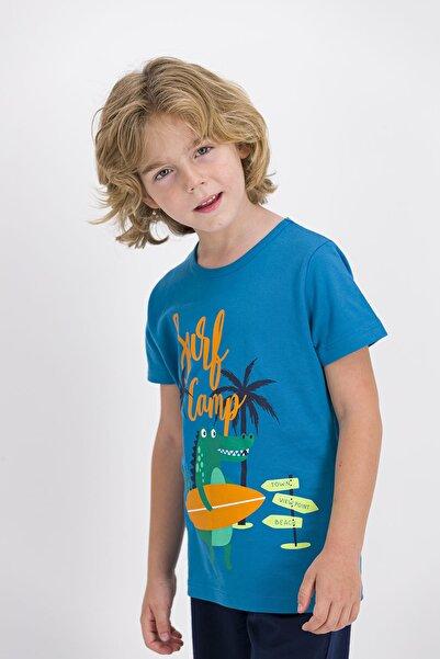 ROLY POLY Rolypoly Açık Indigo Erkek Çocuk T-shirt