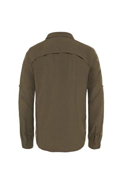 Erkek Haki Gömlek Nf0a2xjw21l1-tnf Sequoia