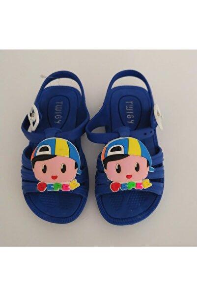 Twigy H0950 Pepee Mavi Çocuk Sandalet