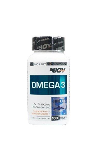 Big Joy Bigjoy Vitamins Omega 3 Balık Yağı 100 Kapsül