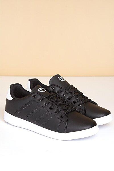 Pierre Cardin Erkek Günlük Spor Ayakkabı-siyah-beyaz Pcs-10152