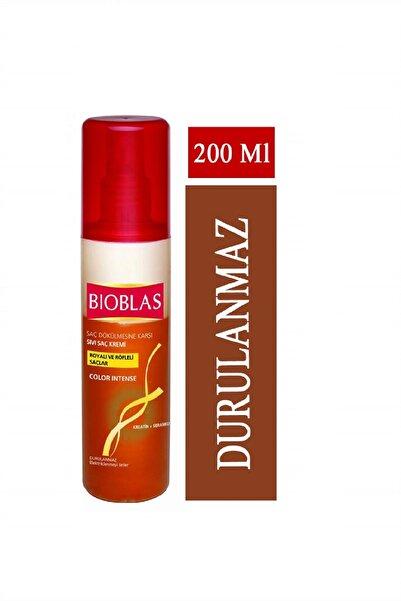 Bioblas Boyalı Saçlar İçin Saç Dökülmesine Karşı Sıvı Saç Kremi 200 ml