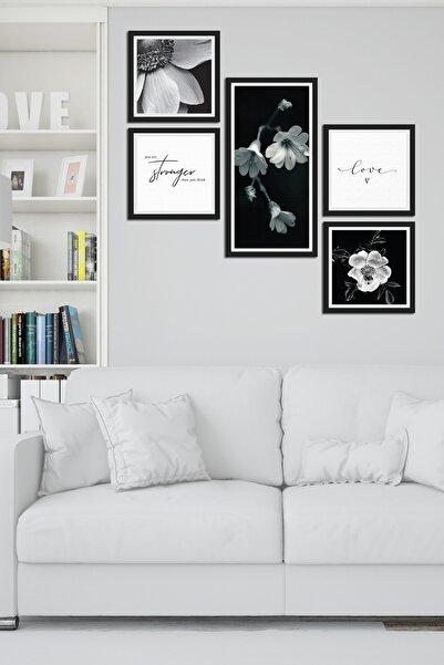 Cadran Collage Style 5 Parçalı Mdf Tablo Atf292
