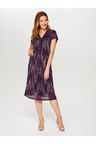 Faik Sönmez Kadın Payet Abiye Elbise 60103