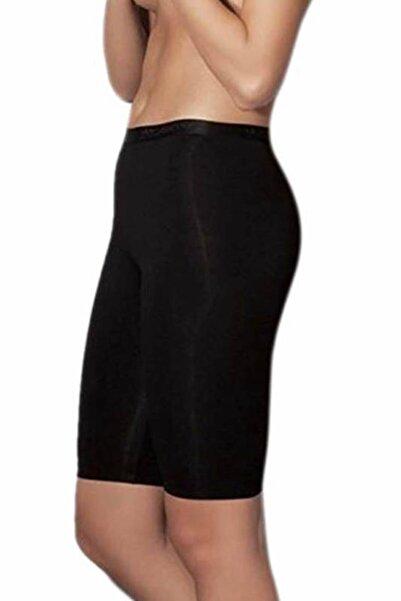 Doreanse Kadın Siyah Likralı Modal Şort 9900
