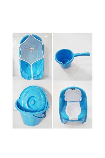 Bebekmağazam Erkek Bebek Mavi Yıkama Seti