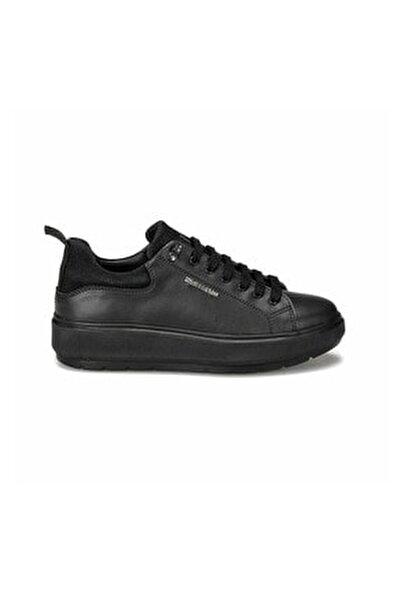 Kadın Siyah Kalın Taban Ayakkabı Fıona 100434702