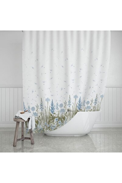 Zethome Evdy Banyo Duş Perdesi 2558 Çift Kanat 2x110x200cm