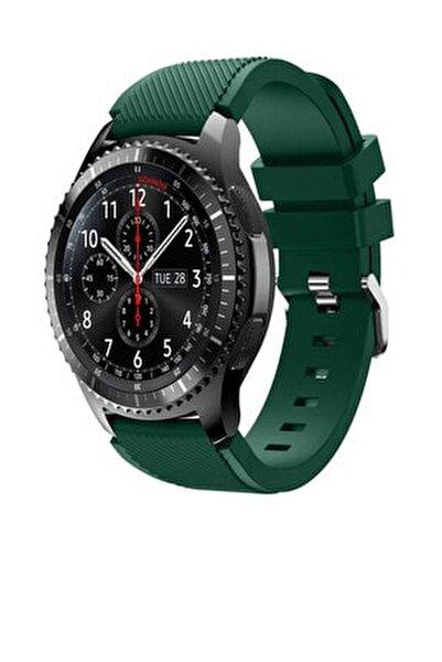 Huawei Watch Gt2 46mm Sport Kordon Silikon Koyu Yeşil