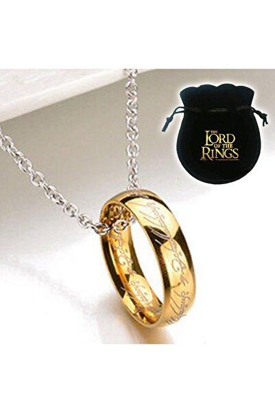 abbsee Lord Of The Rings 18K Altın Kaplama Sırlar Yüzüğü Yüzüklerin Efendisi Frodo Yüzüğü