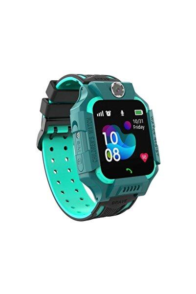Nln-q19 Sim Kartlı Akıllı Çocuk Saati Gps Takip - Yeşil