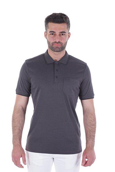 Diandor Polo Yaka Erkek Tshirt Antrasit/Slategrey 1917065