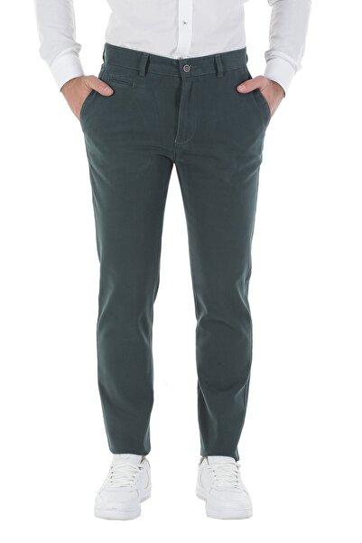 Diandor Slim Fit Erkek Pantolon Yeşil/Green 1723061