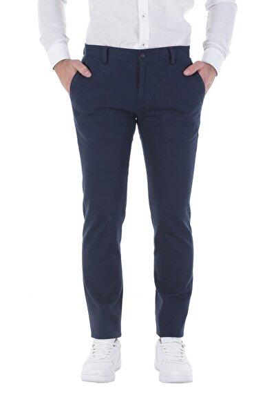 Diandor Dar Kesim Yandan Cepli Erkek Pantolon Lacivert/Navy 1823300