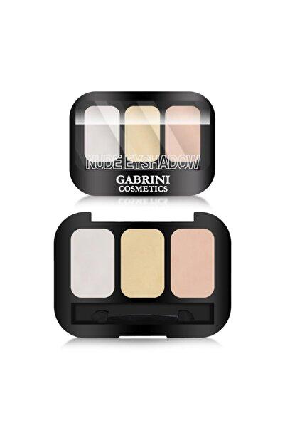Gabrini 3'lü Nude Göz Farı - Nude Eyeshadow 102 8696814078223
