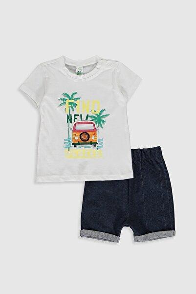 LC Waikiki Erkek Bebek Optik Beyaz E5X Bebek Takımları
