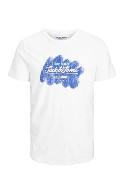 Jack & Jones Jack&jones Jortorıno Tee Ss Crew Neck Fst Erkek T-shirt