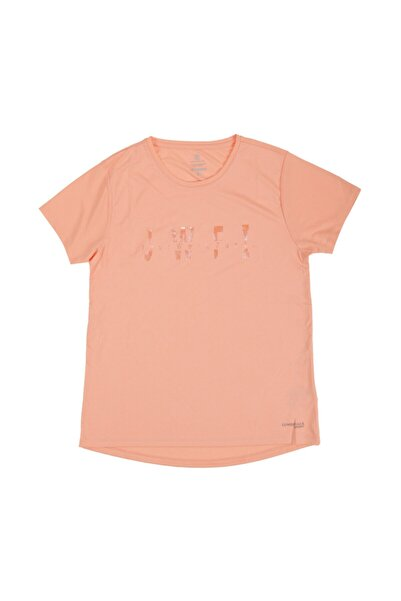 lumberjack W-18165 Ridge Kk Tshırt Somon Kadın T-shirt