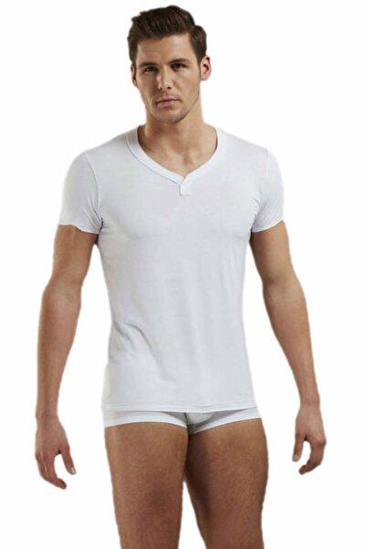 Doreanse Erkek Beyaz Erkek T-shirt 2860
