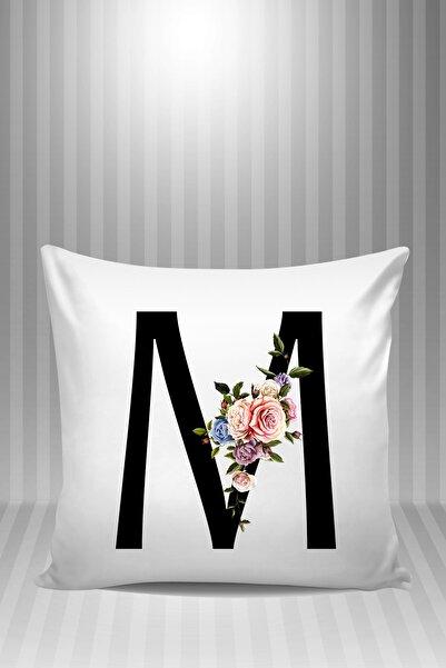 Phi Ajans M Harfi Desenli 3 Yastık