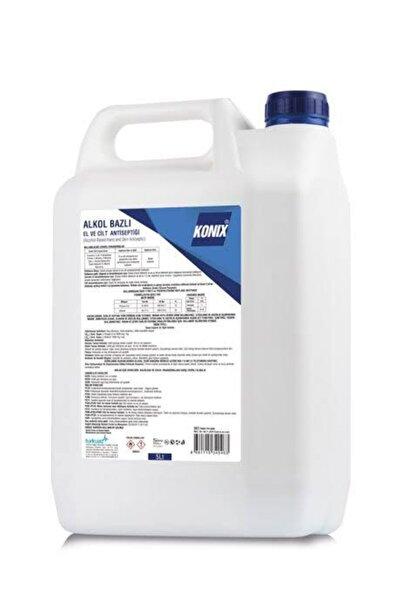 Konix Alkol Bazlı 5000 ml El Ve Cilt Antiseptiği