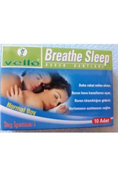 VELLO Breathe Sleep Burun Bantları 10 Adet Normal Boy