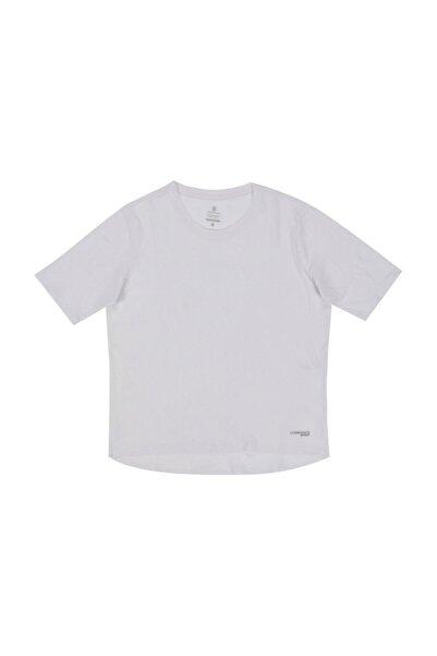 lumberjack W-1880 Wayne Kk Tshırt Beyaz Kadın T-shirt