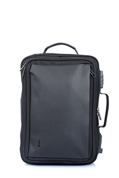 ÇÇS 51271 Kilitli Omuz Askılı Fonksiyonel Laptop Sırt Çantası