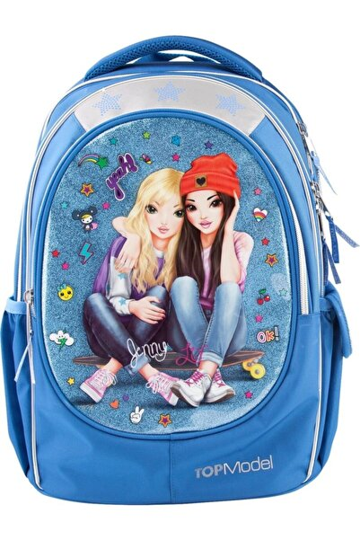 Top Model Topmodel Okul Çantası Friend Mavi - 6622
